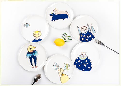創意塗鴨小餐盤