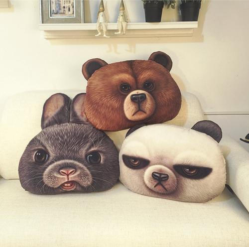 童話動物抱枕