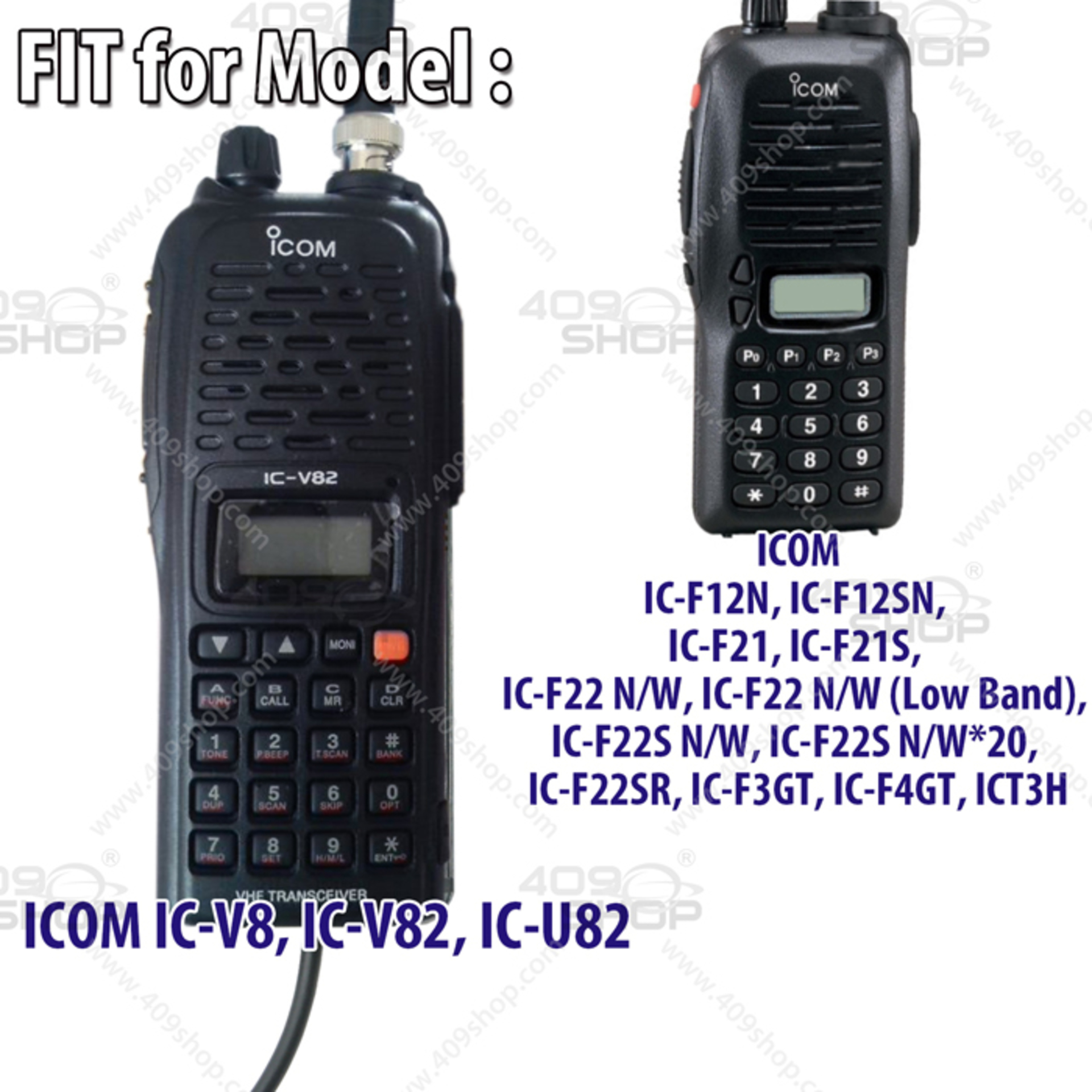software for the icom ic-v82