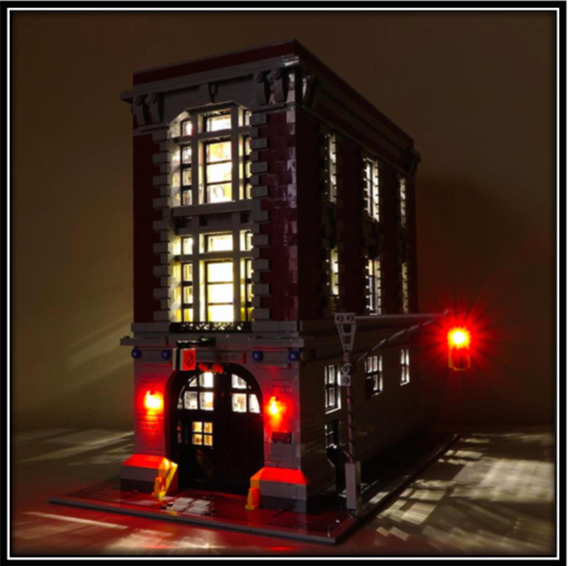 sc 1 st  LiteupBlock & Lighting kit for Firehouse Headquarters