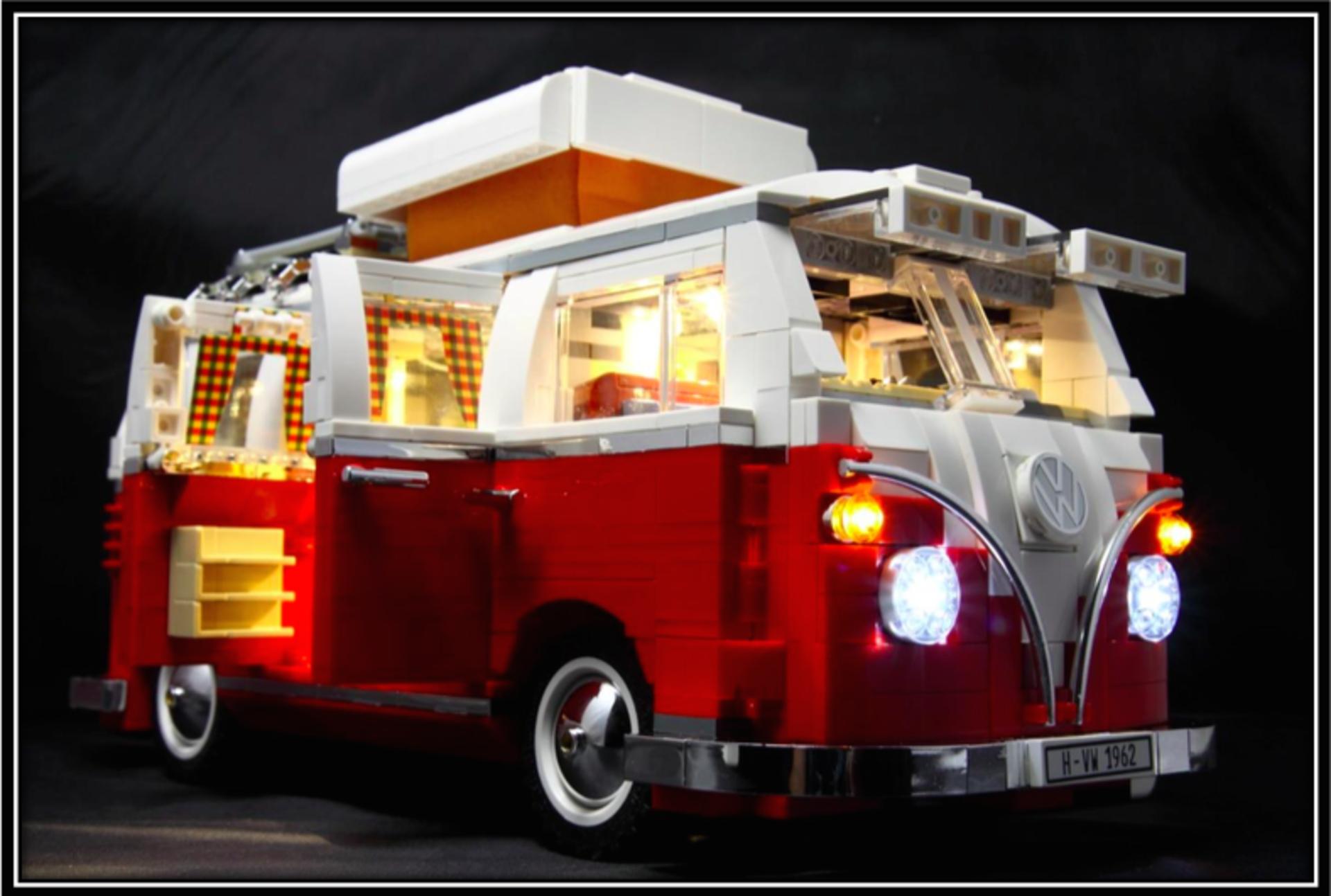 Lighting kit for volkswagen t1 camper van