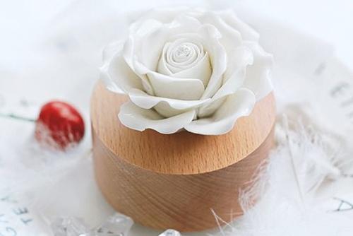 浪漫玫瑰花音樂盒