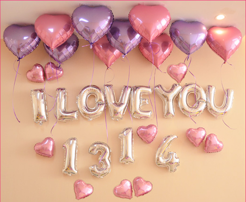 情人表白求婚浪漫氣球套餐