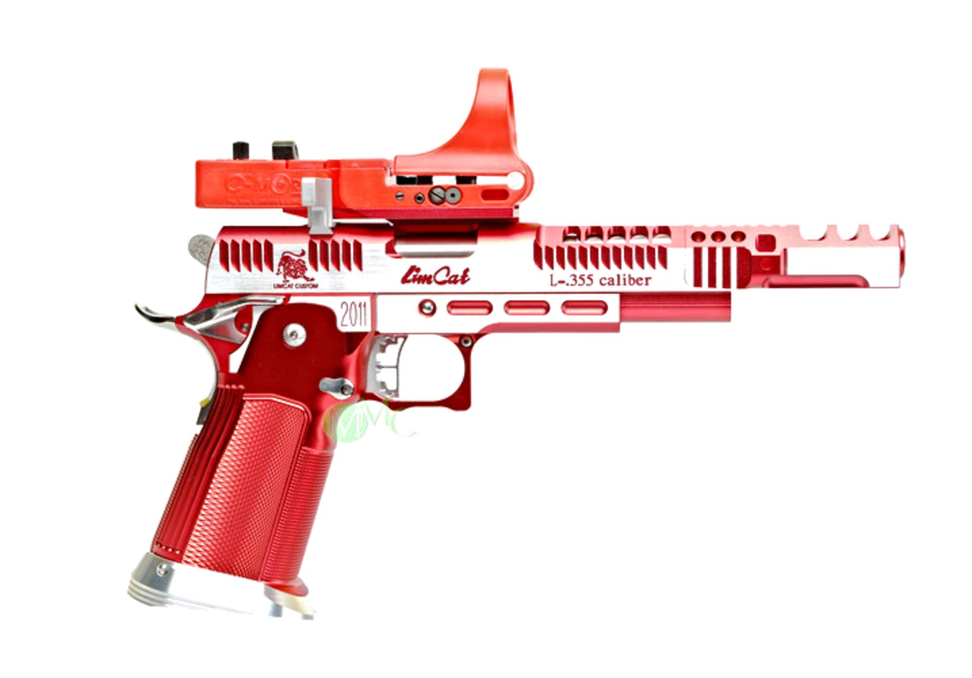 MMC custom Limcat RazorCat Open race pistol with C-More